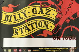 BILLY GAZ STATION : Poster Skins & Licks