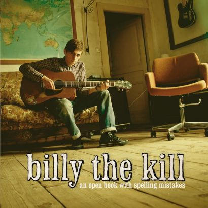 BILLY THE KILL : An open book with spelling mistakes