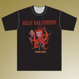 BILLY GAZ STATION : T-shirt