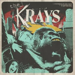THE KRAYS / BAD NASTY : Split EP 12""